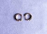 Сережки мінімалізм фірми Xuping(color 78), фото 2