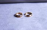 Сережки мінімалізм фірми Xuping(color 78), фото 3
