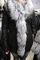 Куртка женская N-PM-13C88/чернобурка