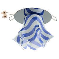HDL- G 19 Zebra/Blue светильник точечный декоративный