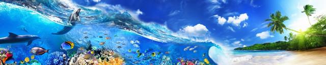 изображение морской волны для фартука 9