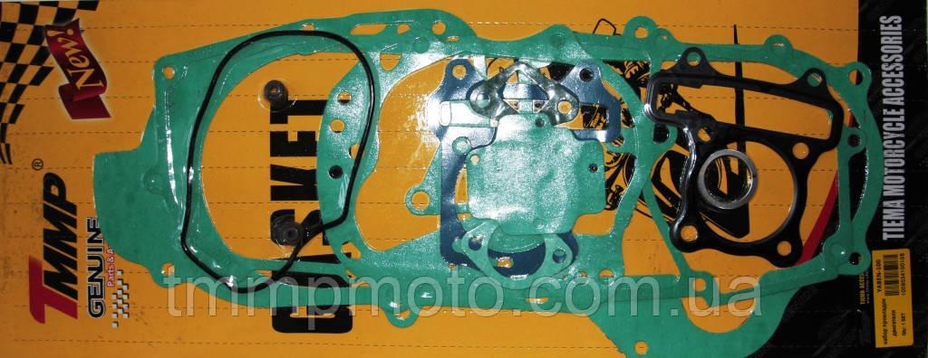 Набір прокладок двигуна 4т YABEN-80 см3 довгий +3см ТММР, фото 2