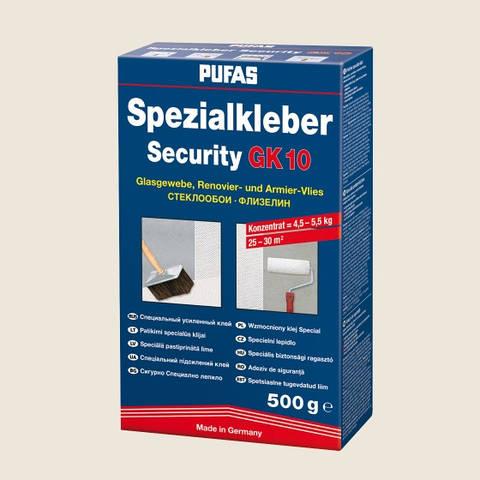 Клей для стеклообоев (стеклохолста) PUFAS Security GK10 500 г