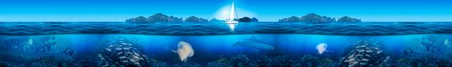 изображение морского дна для фартука 2