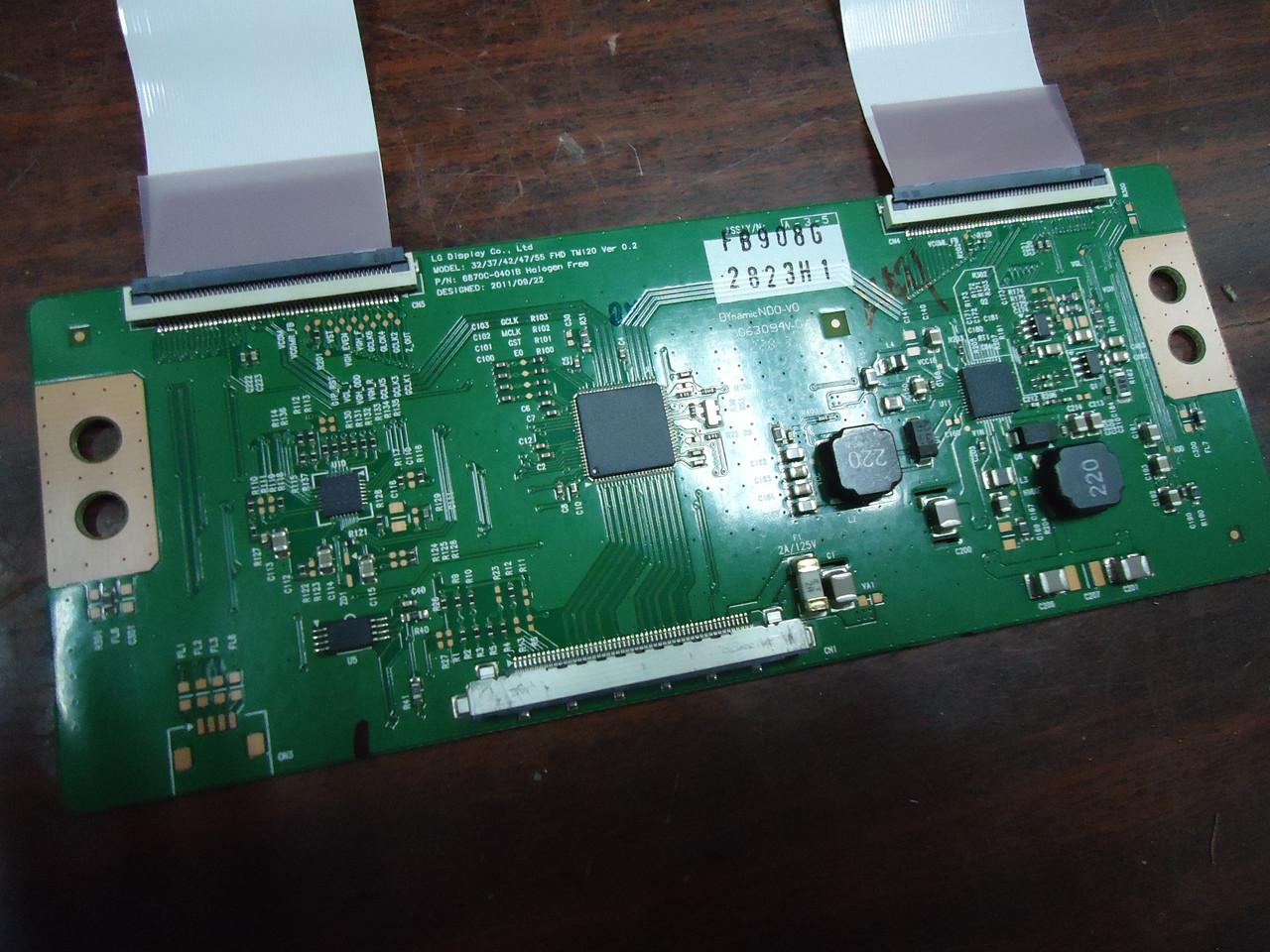 TCON 6870c-0401b Lg FHD TM120 VER 0.2