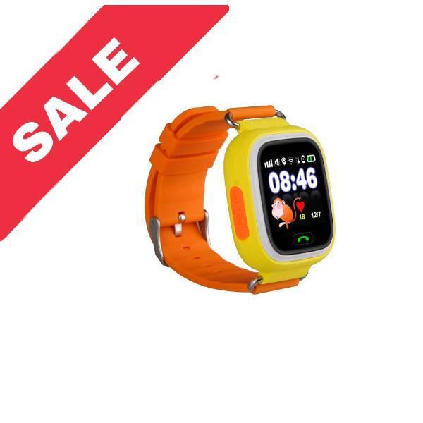 Дитячий смарт годинник Smart Baby Watch Q90 GPS YELLOW