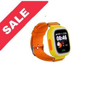 Дитячий смарт годинник Smart Baby Watch Q90 GPS YELLOW, фото 2