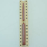 Годинник пісочний для сауни TFA, до 15 хвилин, 287х52х30 мм