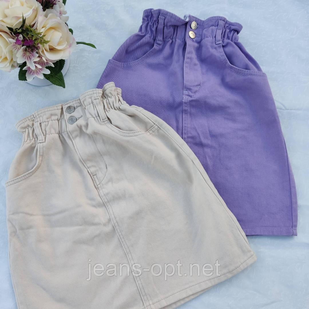 Юбка джинсовая резинка.