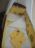 Постель в кроватку 8 единиц для младенцев