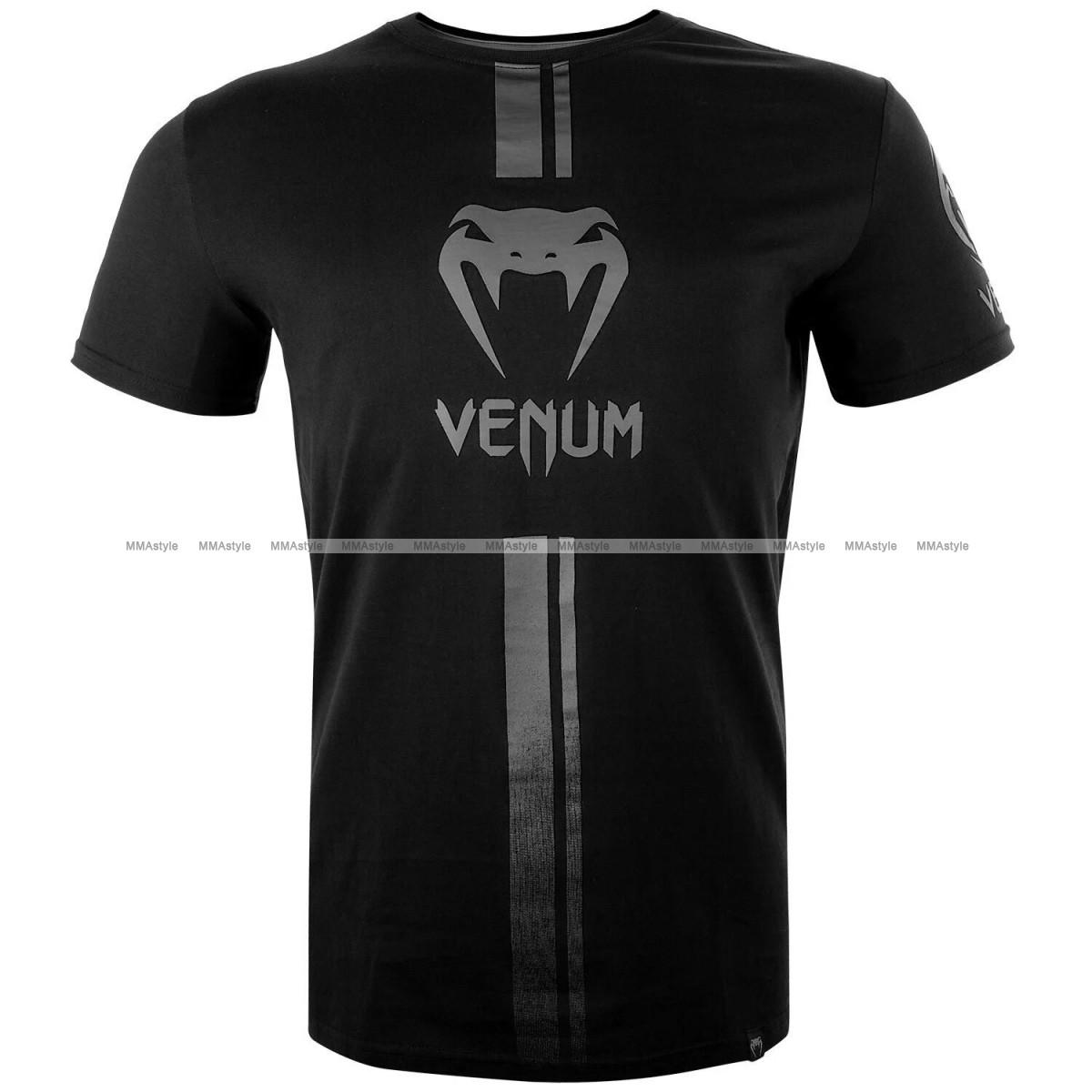 Футболка Venum Logos T shirt Black Black