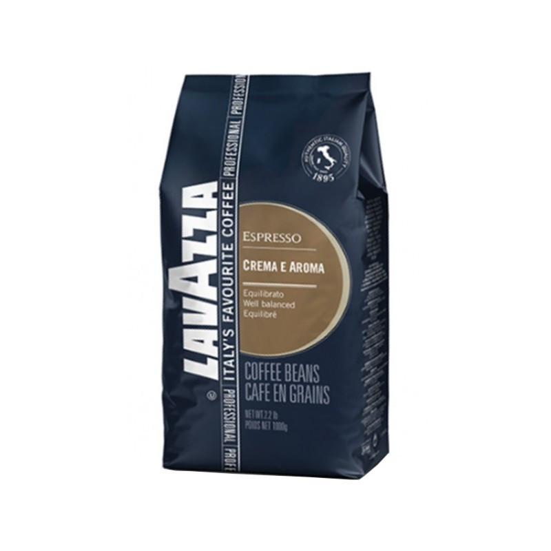 Зернова кава Lavazza Crema e aroma espresso