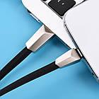 Шнур USB Cable Hoco X4 Zinc Alloy Rhombic Type-C 1.2m, фото 7