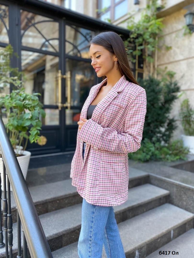 Пиджак женский модный Б417 Ол, р.42-48 уни