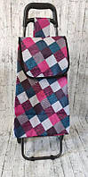 Хозяйственная сумка-тележка, кравчучка, сумка для покупок на 2-х колесах, фото 1