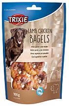 Ласощі Кільця з ягням та куркою для собак