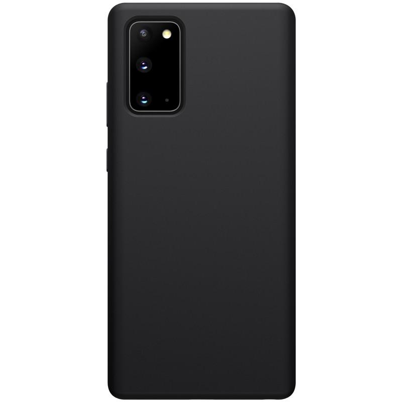 Nillkin Samsung Galaxy Note 20 Flex Pure Case Black Силиконовый Чехол