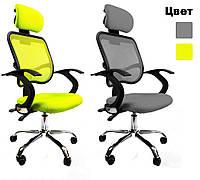 Офисное кресло компьютерное Ergo D05 для дома и офиса (офісне комп'ютерне крісло Ерго)