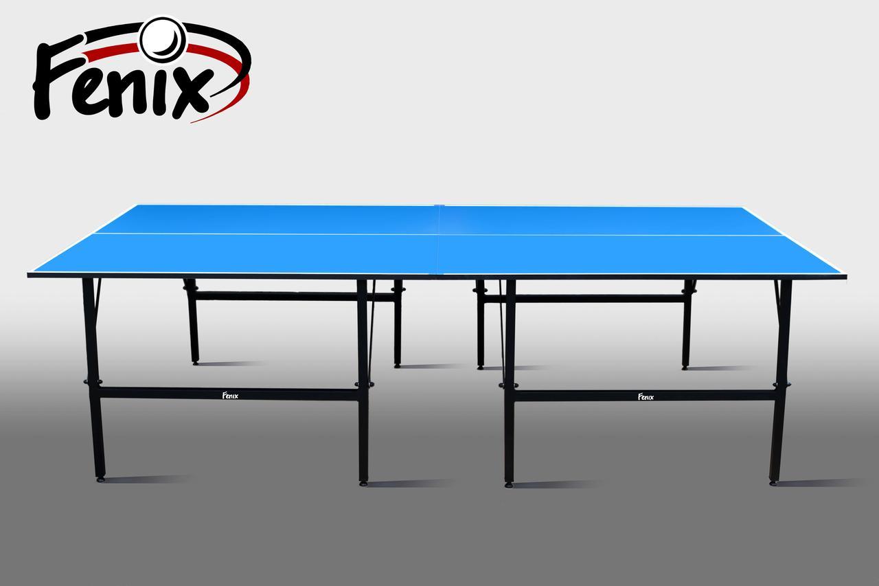 Теннисный стол для помещений «Феникс» Basic M19 синий, (026-0009)