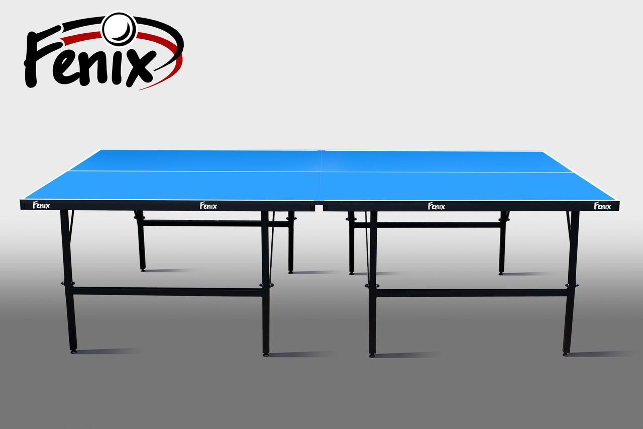 Теннисный стол для помещений «Феникс» Basic Sport M19 синий, (026-0013)
