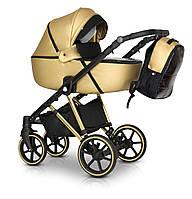 Детская коляска универсальная 3 в 1 Verdi Makan Elektro 10 new gold (Верди, Польша)