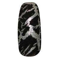 NE-6T Трескающийся лак для ногтей № 2 (черный)
