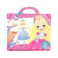 "Розмальовка з наклейками ""Гламур"" Princess Mimi (4010070350468)"