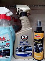 Полироль для приборной панели К2 молочко Polo спрей 770мл