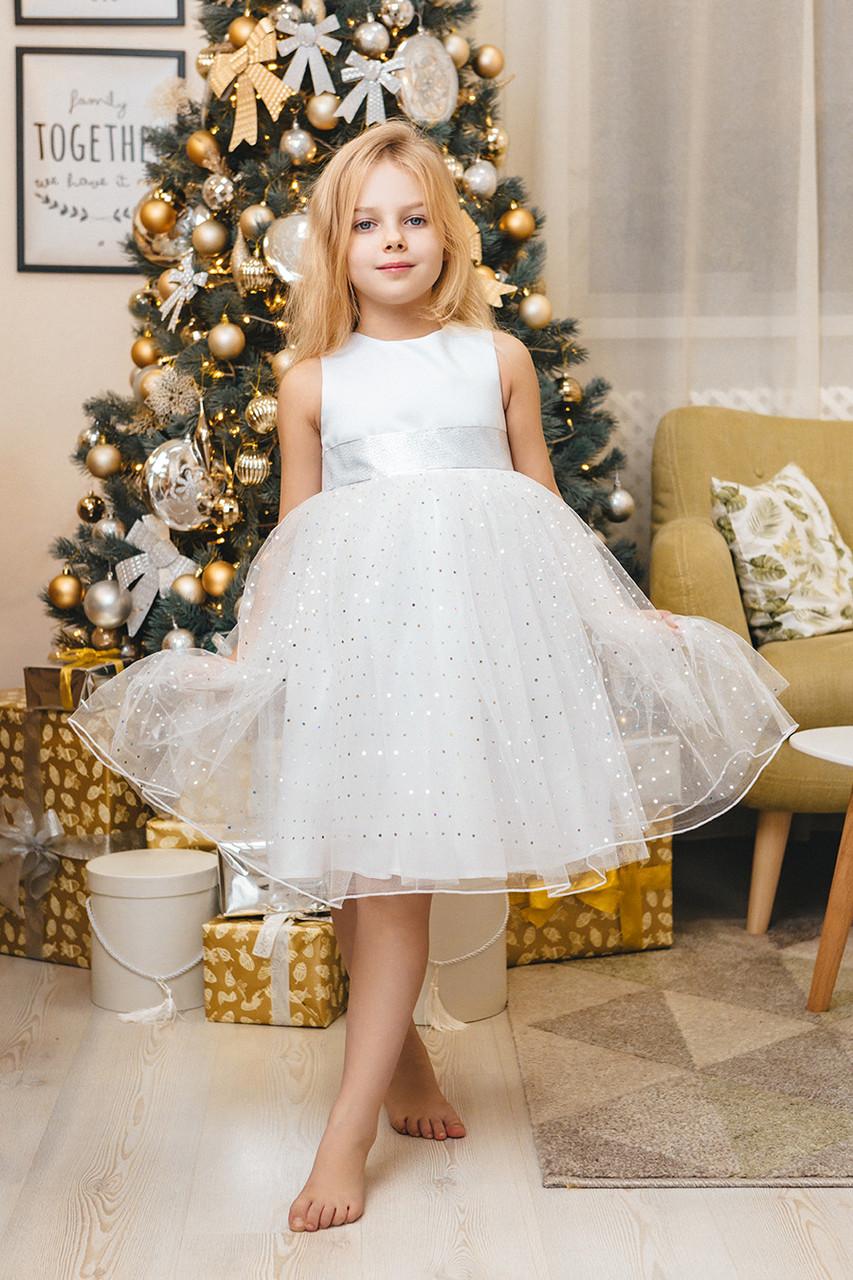 Нарядное детское платье для девочки NP-34