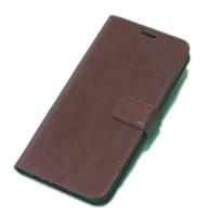 Чехол книжка для телефона Xiаomi Redmi note 8 коричневый