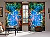 Шторы 3D Крабовидная туманность, комплект из 2-х штор