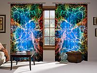 Штори 3D  Крабовидна туманність, комплект з 2-х штор