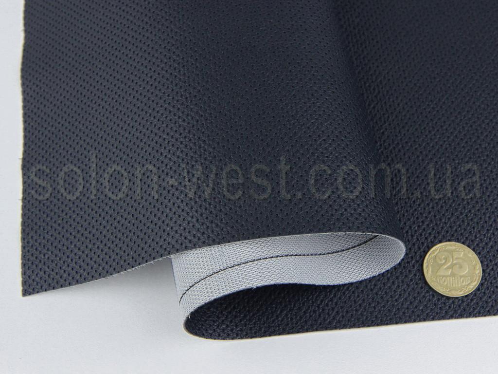 Кожзам псевдо-перфорированный vf-5215/5 темно-синий, для сидений авто, мотоциклов, квадроциклов, ширина 1.50м
