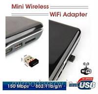 USB WiFi mini адаптер для компьютера без wi-fi -- купить: http://mirpodarkov.in.ua/p66674206-usb-wifi-mini.html