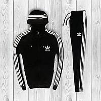 Спортивный костюм Adidas Black. Адидас