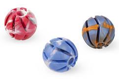 Sum Plast Spiral Ball игрушка мяч с прорезью с запахом ванили для собак, №2 (Ø5см)