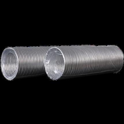 Воздуховод алюмінієвий Ера гофрований 80 мм х 3 м (60-149), фото 2