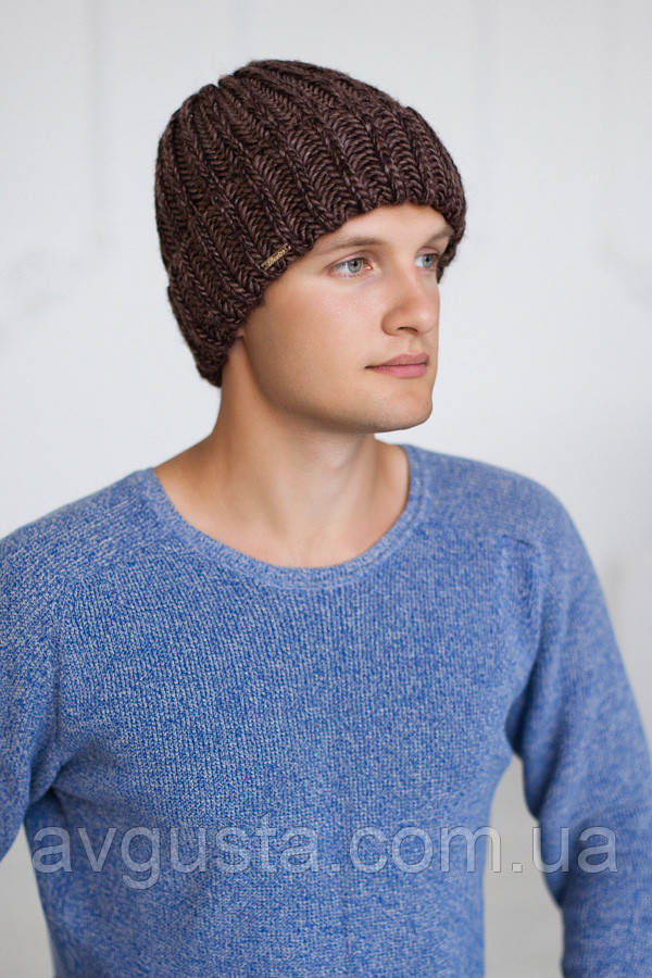 Мужская шапка «Кевин» (светло-коричневый) Braxton