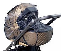 Москитная сетка на коляску универсальная Twins black