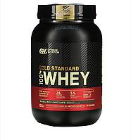 Протеин Оригинал США! Optimum Nutrition 100 % Whey Gold Standard 907 г Double rich chocolate Двойной шоколад