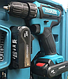 Аккумуляторный шуруповерт makita 550DWE 24V 5A/h Li-Ion Шуруповерт Макита 550dwe с набором инструментов, фото 7