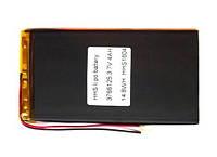 Аккумулятор 4000мАч 3565125 мм 3,7в универсальний для планшетов 4000mAh 3.7v 3.5*65*125