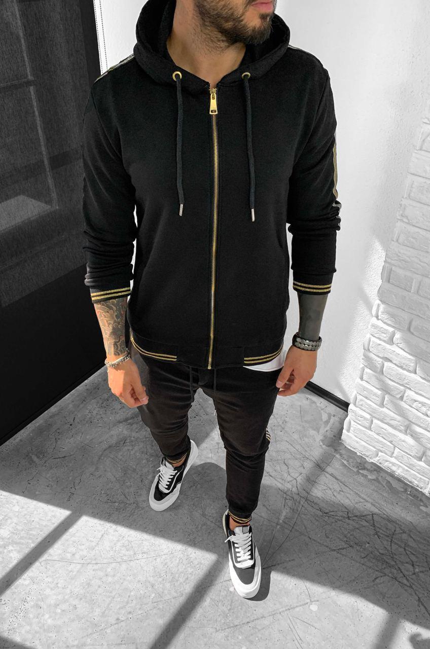 Чоловічий спортивний костюм Black Island mk 10 black