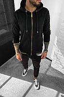 Чоловічий спортивний костюм Black Island mk 10 black, фото 1