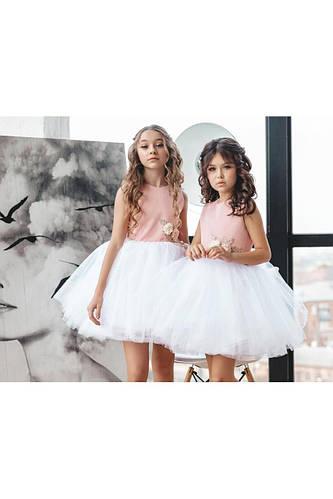 Нарядное детское платье для девочки NP-21