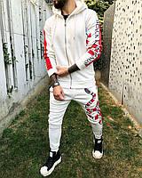 Чоловічий спортивний костюм Black Island mk 4 white, фото 1
