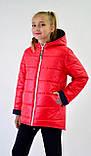 Куртка демисезонная на девочку. Куртки детские двухсторонние, фото 3
