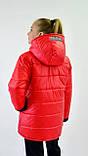 Куртка демисезонная на девочку. Куртки детские двухсторонние, фото 2