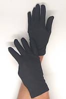 Перчатки черные карнавальные, трикотажные