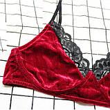 Эротический комплект женское нижнее бельё, фото 4